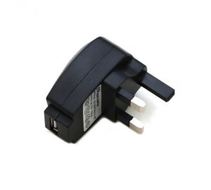 500ma usb wall power adapter charger uk plug