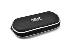 zipped ego carrying case black white trim