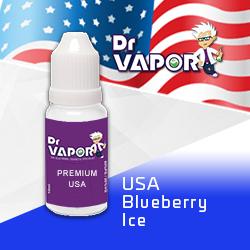 Blueberry ice e-liquid