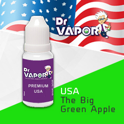 Big green apple e-liquid