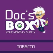 Doc's Box tobacco - monthly e-liquid subscription in UK