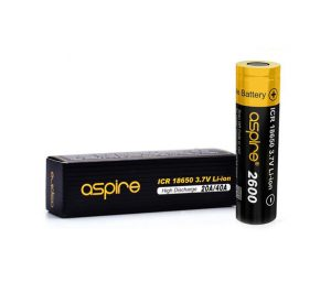 aspire 18650 battery 2600mah uk