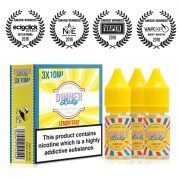 dinner lady Lemon Tart 10ml multipack (30ml) e-liquid UK