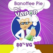 banoffee pie high vg e-liquid UK