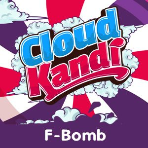 cloud kandi e-liquid f-bomb