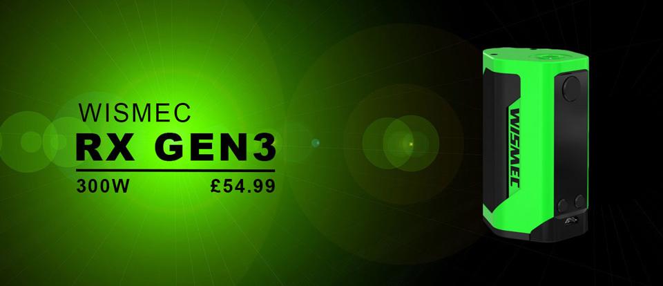 Wismec RX GEN3 300w mod UK