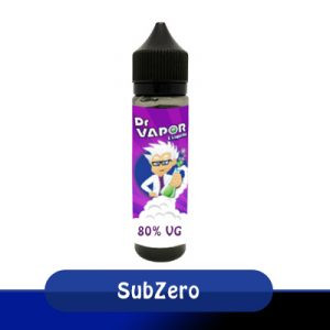 SubZero 50ml short-fill e-liquid