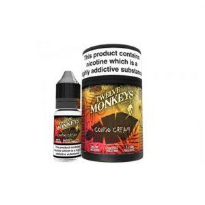 Twelve Monkeys Congo cream e-liquid