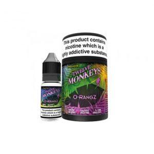 Twelve Monkeys o-rangz e-liquid
