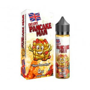 pancake man deluxe vape breakfast e-liquid